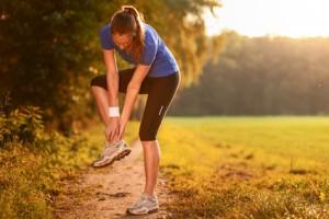 Verletzungen am oberen Sprunggelenk treten oft beim Sport auf